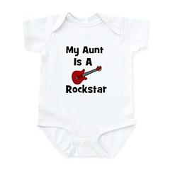 My Aunt Is A Rockstar Infant Bodysuit