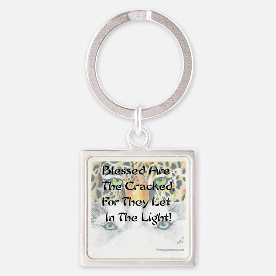PersonalFront Square Keychain