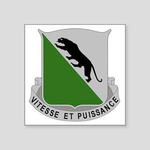 """69th Armor Regiment Square Sticker 3"""" x 3"""""""