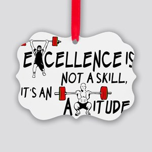 Excellence is not a skill its an  Picture Ornament