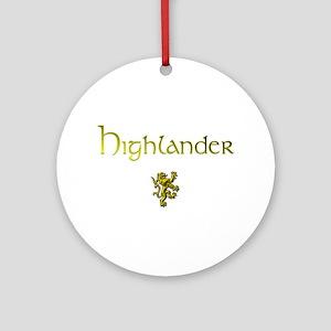 Highlander 1&2 Ornament (Round)
