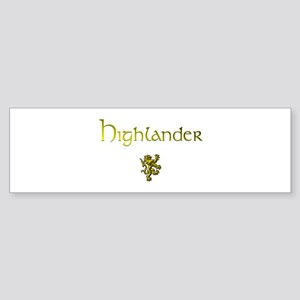 Highlander 1&2 Bumper Sticker