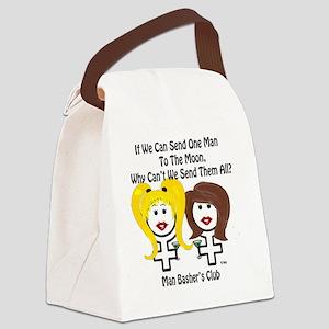 men suck divorce men-to-the-moon Canvas Lunch Bag