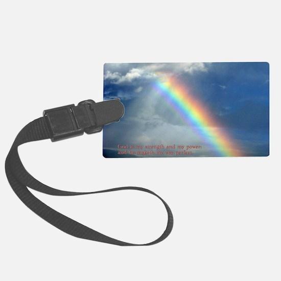 2 Samuel 22-33  Rainbow Luggage Tag