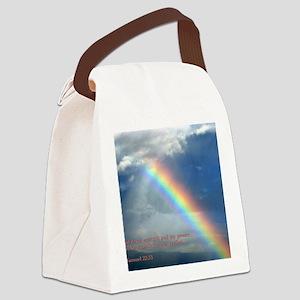 2 Samuel 22-33  Rainbow Canvas Lunch Bag