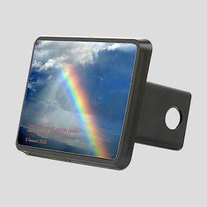 2 Samuel 22-33  Rainbow Rectangular Hitch Cover