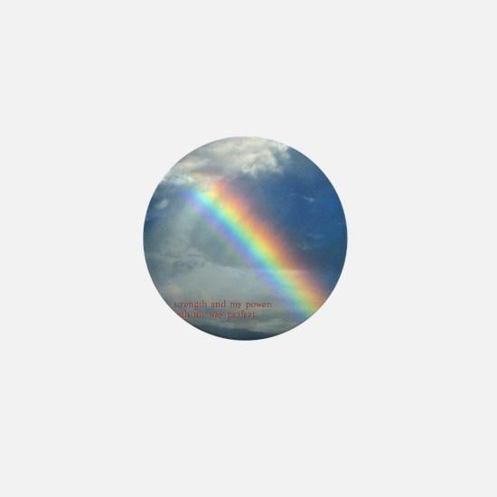 2 Samuel 22-33  Rainbow Mini Button