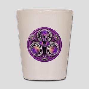 Goddess of the Purple Moon Shot Glass