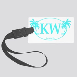 KW LogoDRK Large Luggage Tag