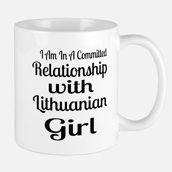 I Am In Relationship With Lithua Mug