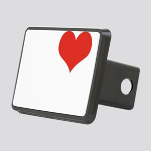 I LOVE MEMPHIS Rectangular Hitch Cover