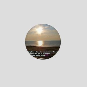 Jeremiah 29-11 Sunrise Mini Button