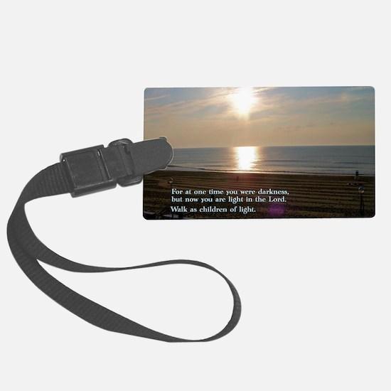 Ephesians 5-8  Sunrise Luggage Tag