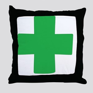 greenx Throw Pillow