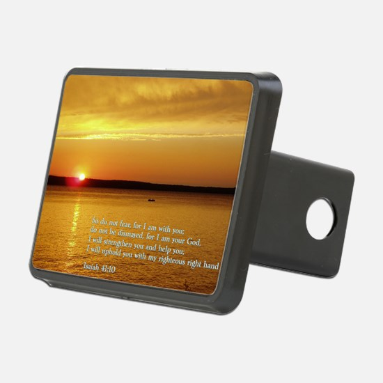 Isaiah 41-10  Sunset Hitch Cover