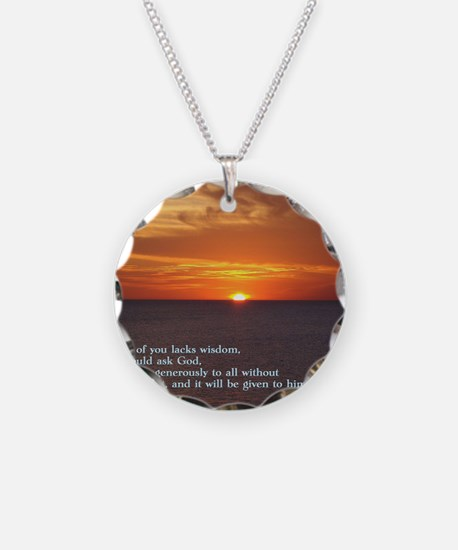 James 1-5  Sunset Necklace