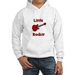 Little Rocker with Guitar Hooded Sweatshirt