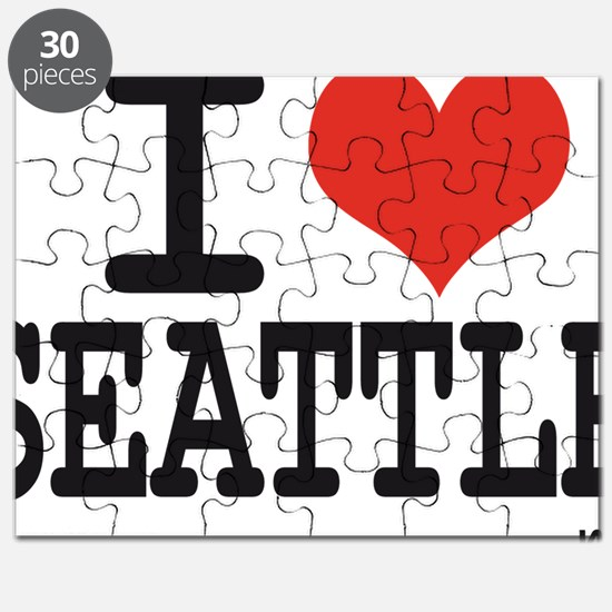 I LOVE SEATTLE Puzzle