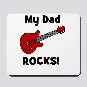 My Dad Rocks! (guitar) Mousepad