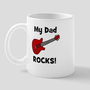 My Dad Rocks! (guitar) Mug
