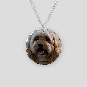 DeeJay Squ Necklace Circle Charm