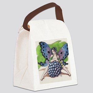 Blackberry Canvas Lunch Bag