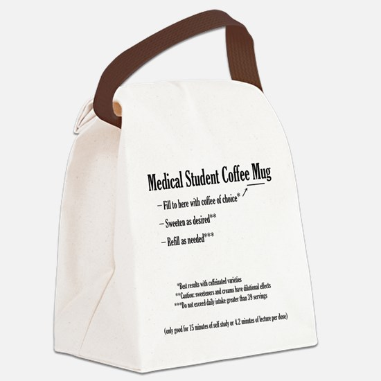 medstumug Canvas Lunch Bag