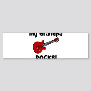 My Grandpa Rocks! (guitar) Bumper Sticker