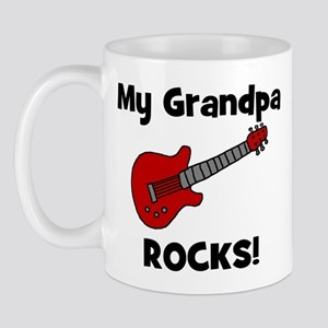 My Grandpa Rocks! (guitar) Mug