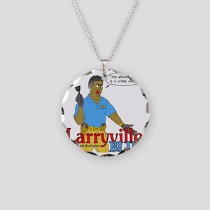 CSI Larryville 2 Necklace Circle Charm