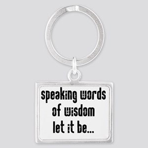 speaking Landscape Keychain