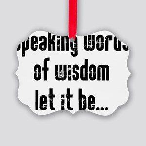 speaking Picture Ornament