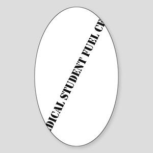 medstufuelcell Sticker (Oval)