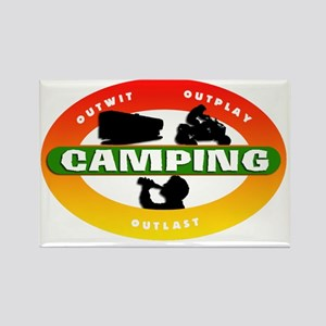 Camping 03 Rectangle Magnet