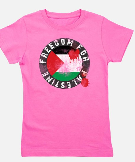 freedom for palestine Girl's Tee