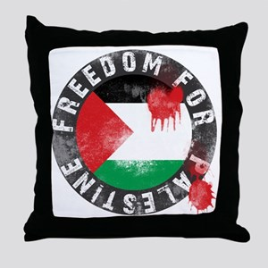 freedom for palestine Throw Pillow
