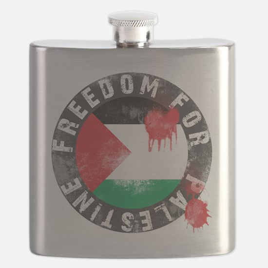 freedom for palestine Flask
