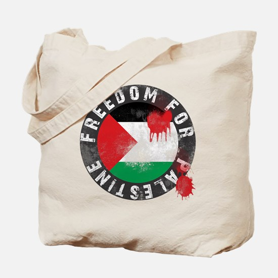 freedom for palestine Tote Bag