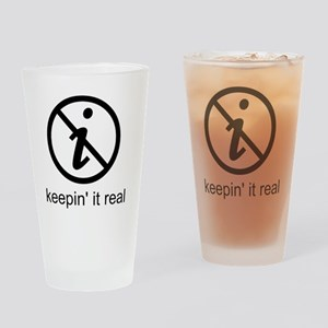 realnumber Drinking Glass