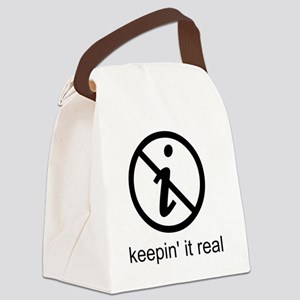 realnumber Canvas Lunch Bag