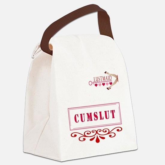CUMSLUT Canvas Lunch Bag
