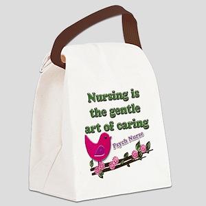 nursing Psy Nurse Canvas Lunch Bag