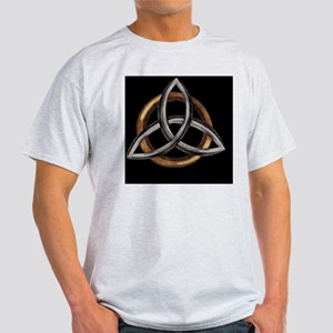 Triquetra Brown/Silver Light T-Shirt