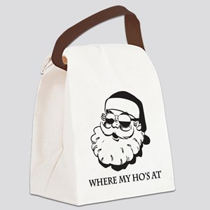 Where My Hos At Canvas Lunch Bag