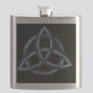 Triquetra Blue Flask