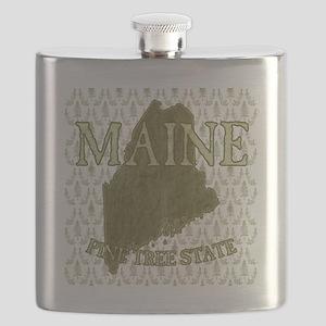 Pine Tree State Rev 2 Flask