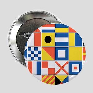 "Nautical Flags 2.25"" Button"