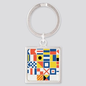 Nautical Flags Keychains