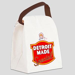 detroitMADE Canvas Lunch Bag