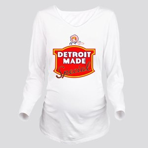 detroitMADE Long Sleeve Maternity T-Shirt